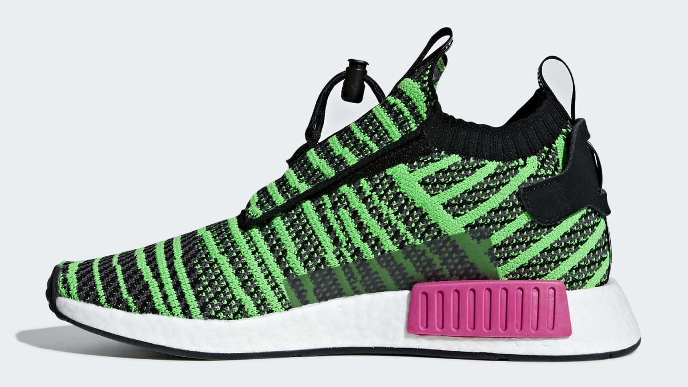 6f3e92d0996 Adidas NMD TS1 Shock Lime Release Date B37628 Medial