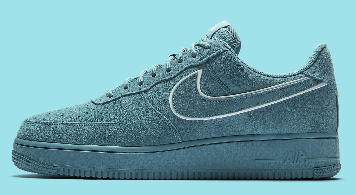 Nike Air Force 1 Suede AA1117-400 (Lateral)