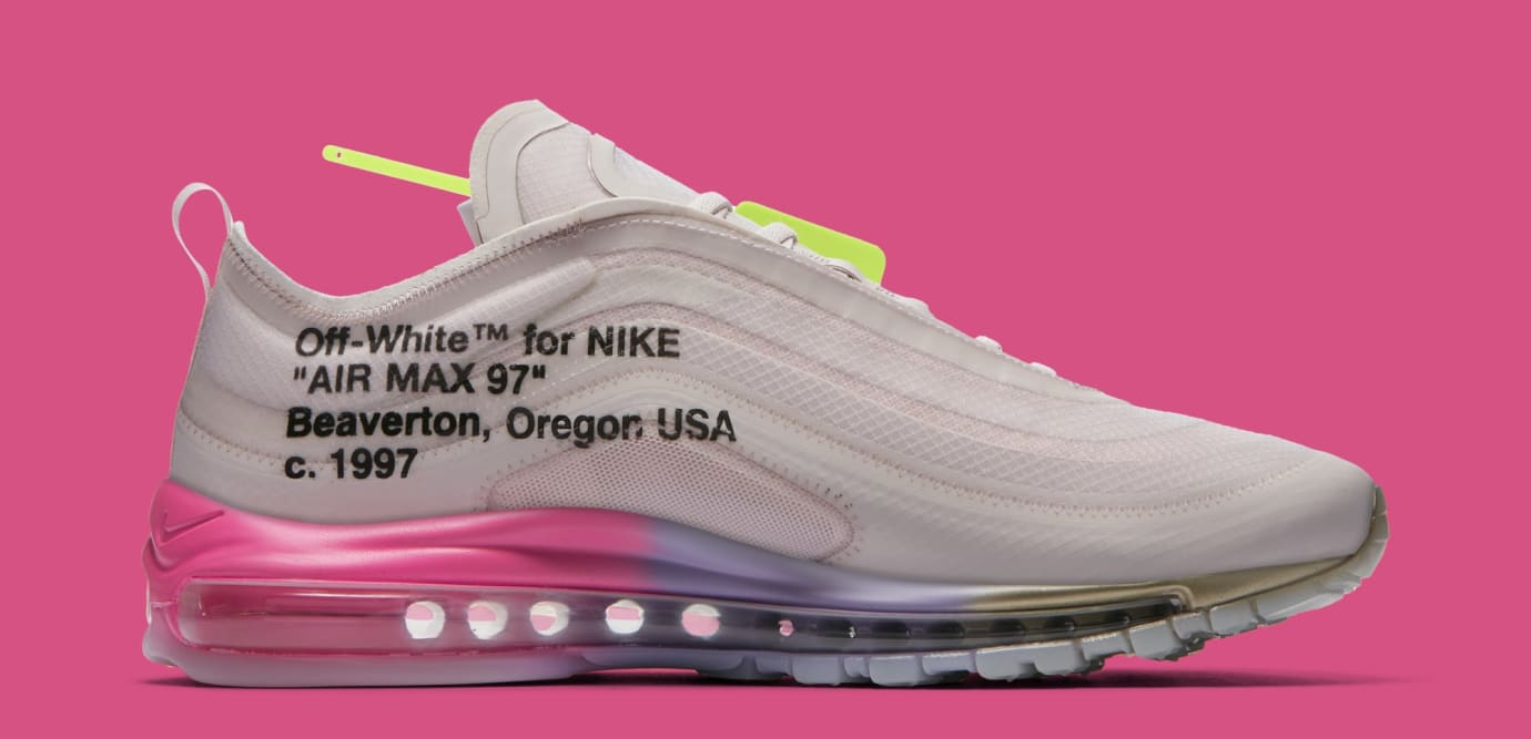 newest 41227 4adc6 Image via Nike Off-White x Nike Air Max 97 Serena Williams  Queen  AJ4585- 600