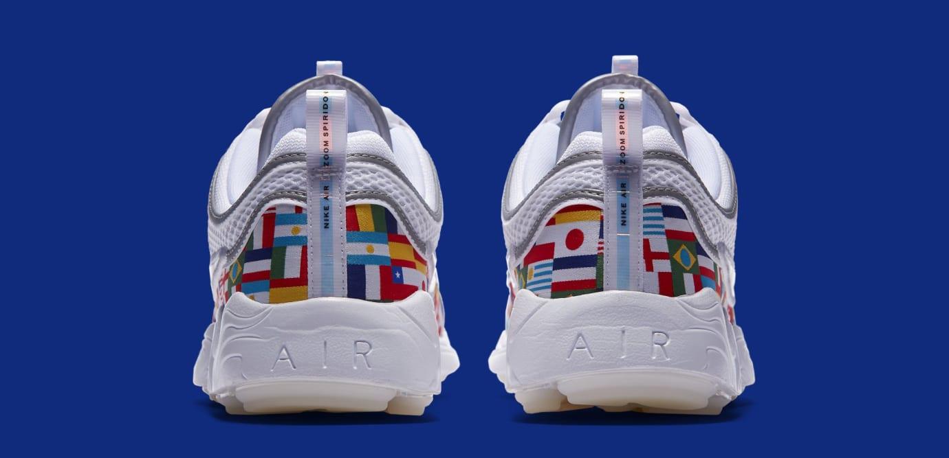 Nike Air Zoom Spiridon 'One World' AO5121-100 (Heel)