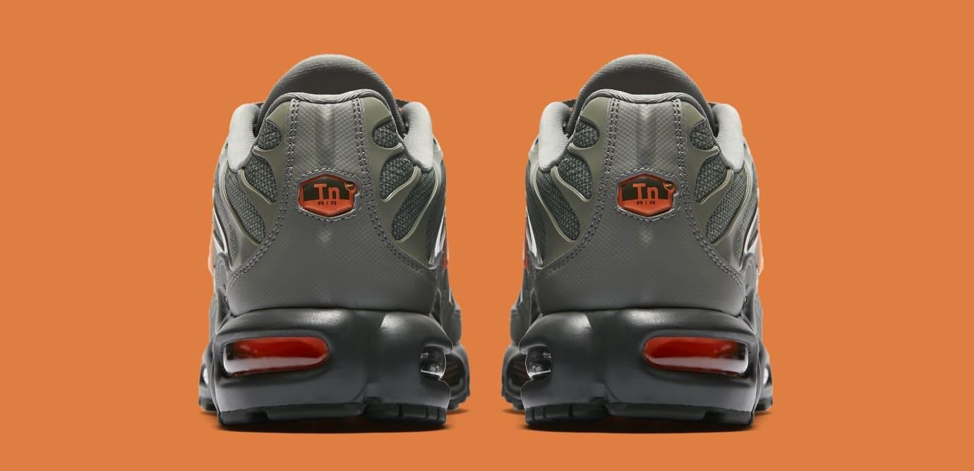 Nike Air Max Plus 'Dark Stucco/Total Orange' AJ2013-003 (Heel)