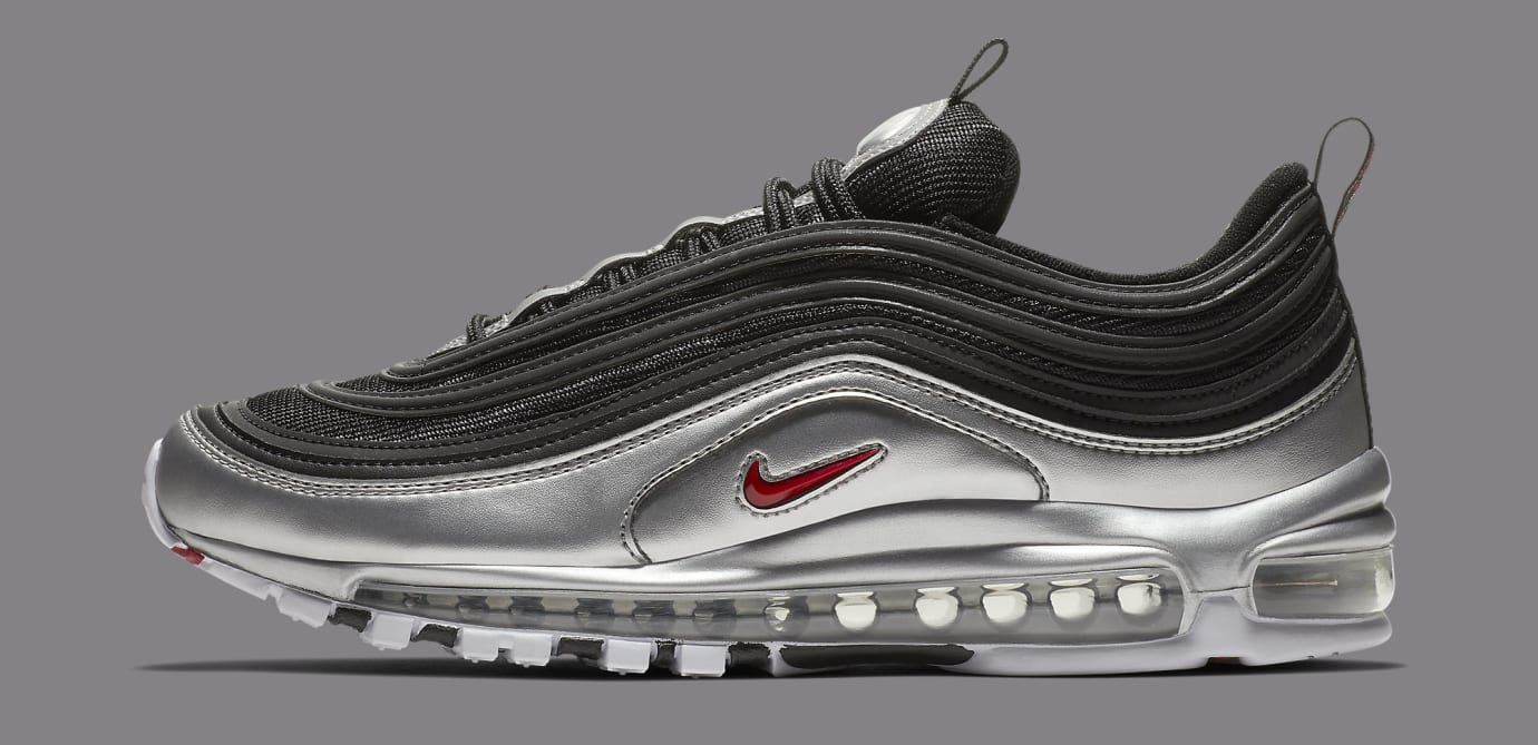 Nike Air Max 97 'Black/Metallic Silver' AT5458-001 (Lateral)