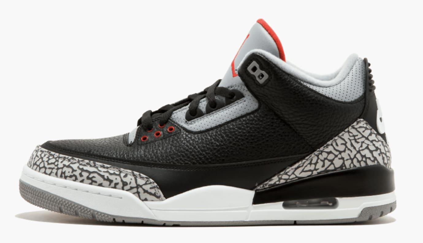 1840d4749d1e7e Black Cement Air Jordan 3 Nike Air 2018 854262-001