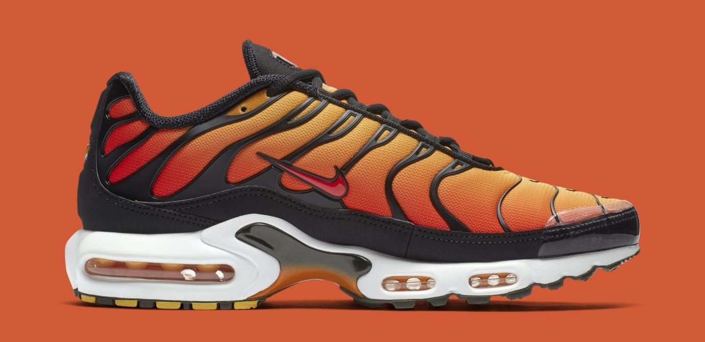 0de926a150dc31 Nike Air Max Plus  Sunset  Black Pimento-Ceramic Resin BQ4629-001 ...