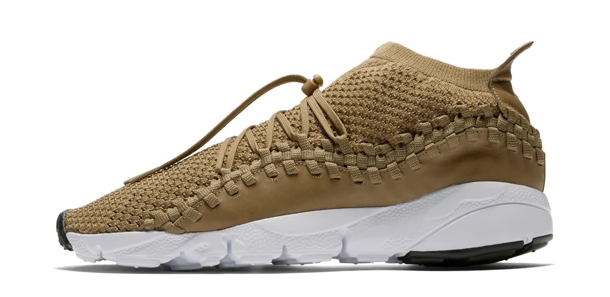 Nike Footscape Woven Chukka Flyknit 'Golden Beige' AO5417-400 (Lateral)