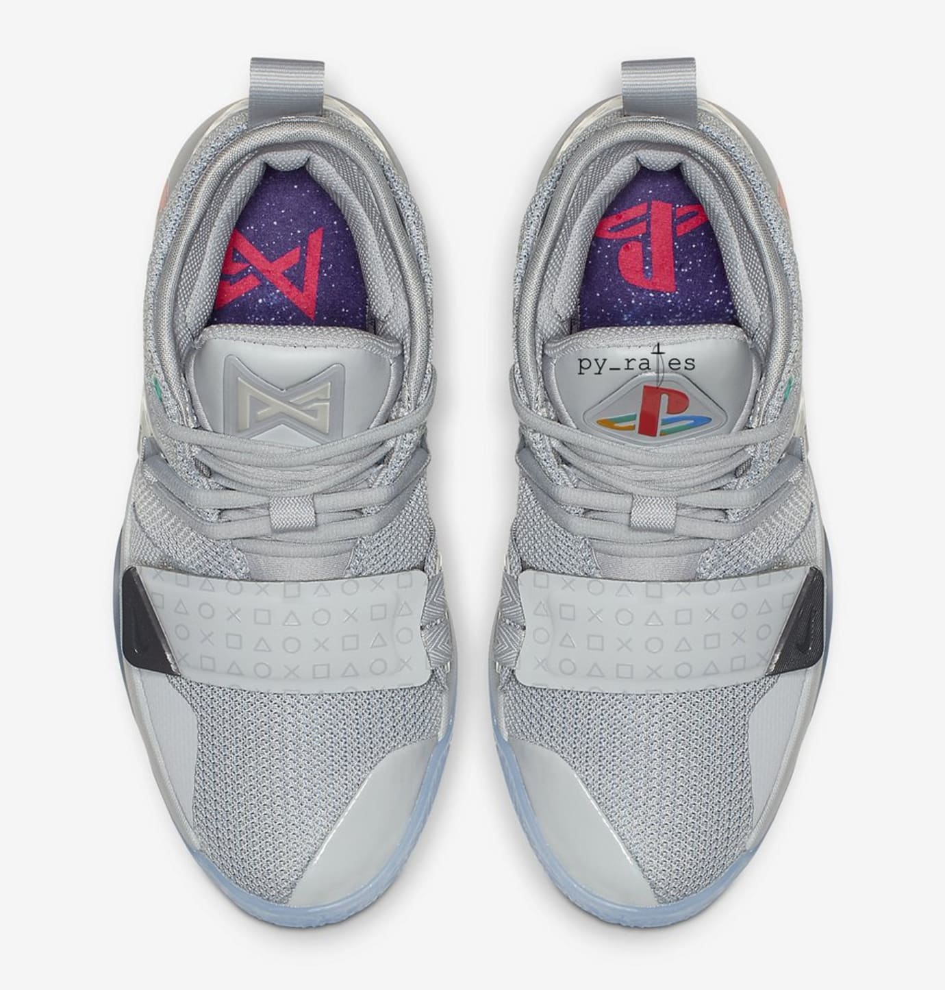 Image via  py rates · Nike PG 2.5  Playstation Grey  (Top) ad825000d