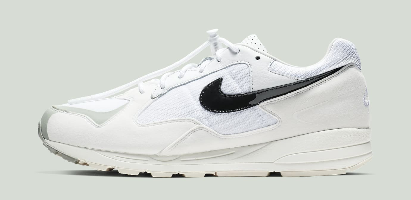 Fear of God x Nike Air Skylon 2 'White/Black-Light Bone-Sail' BQ2752-100 (Lateral)