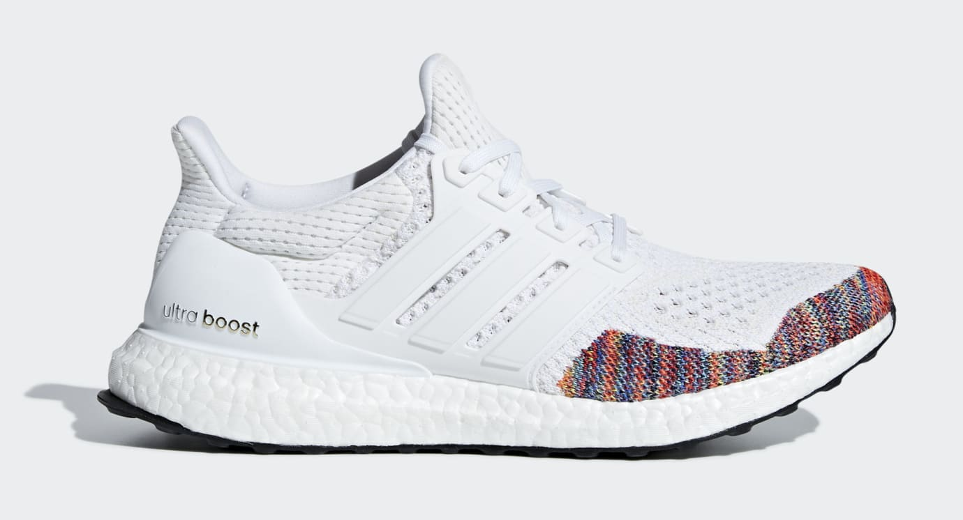 Adidas Ultra Boost 1.0 'White Multi' BB7800 (Lateral)