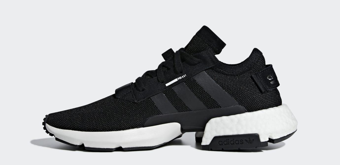 Adidas P.O.D. System Black/White B37366 (Medial)