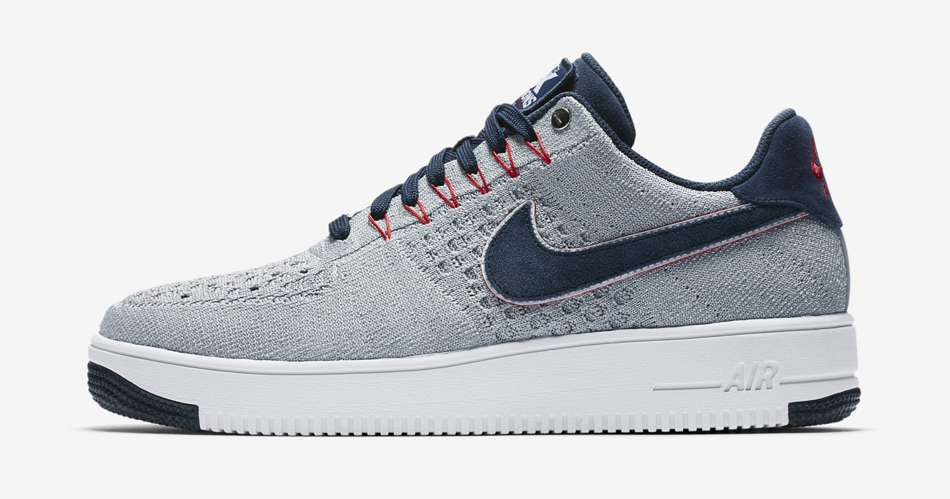 Nike Air Force 1 Ultra Flyknit RKK Patriots AH8425-001 (Lateral)