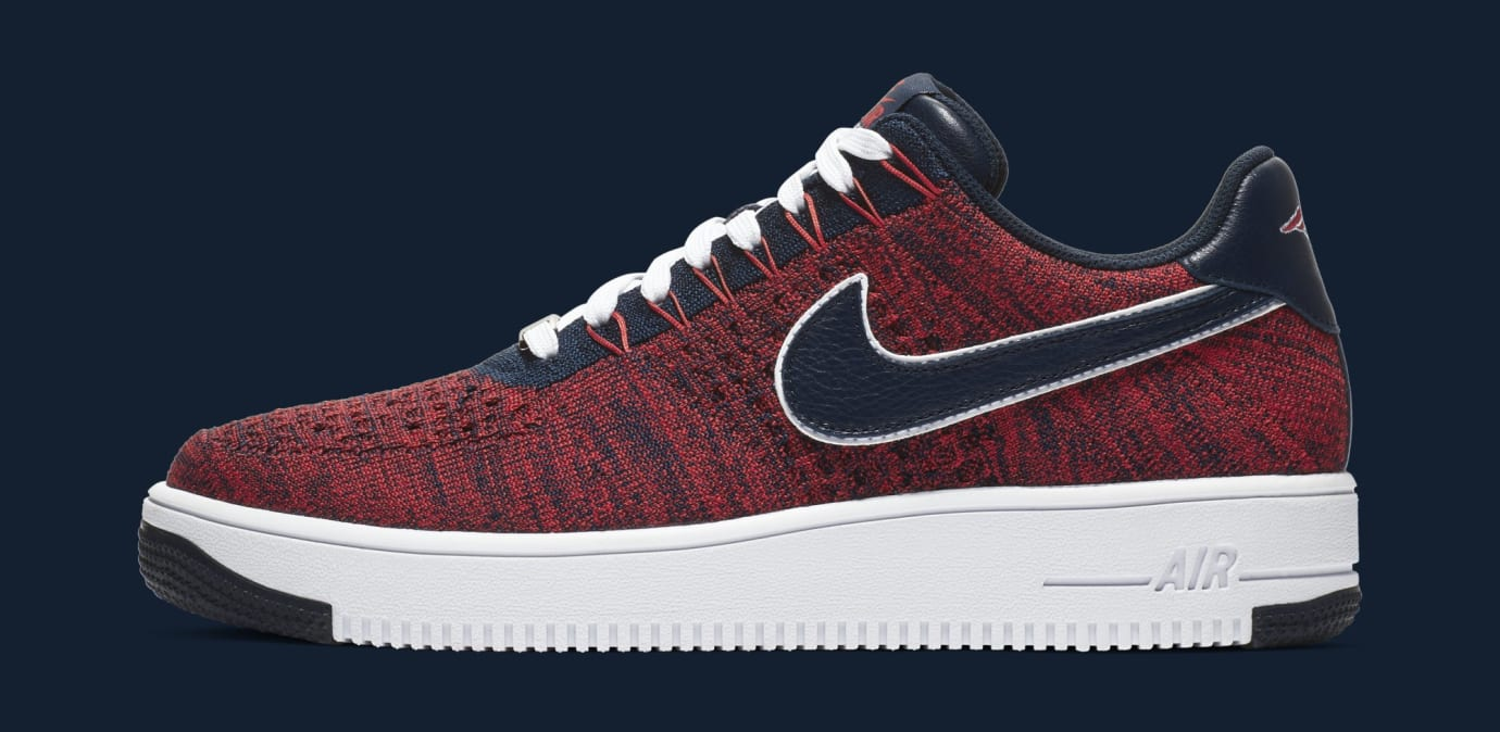 Nike Air Force 1 Ultra Flyknit Low 'RKK' AH8425-600 (Lateral)