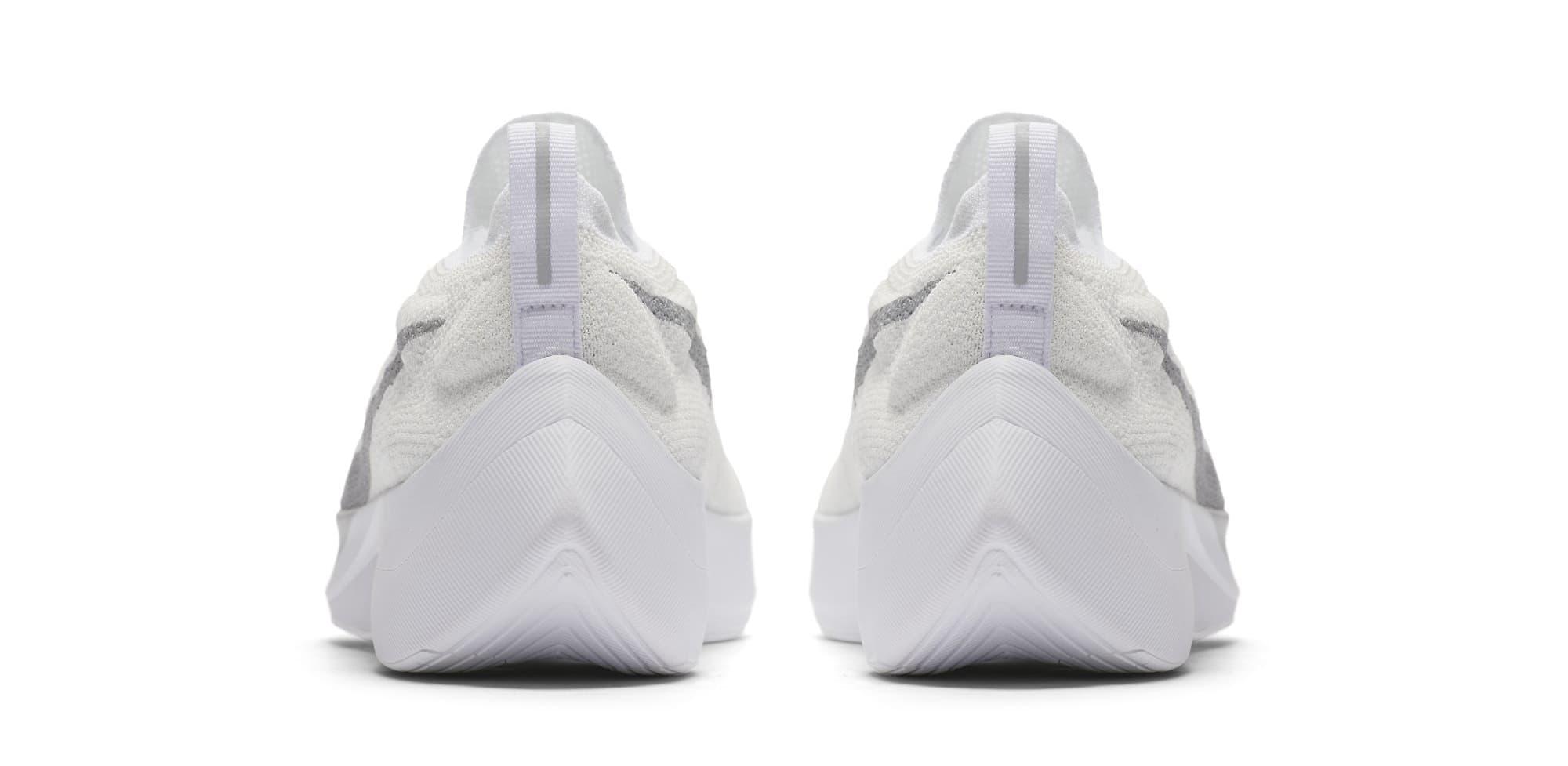 Nike Vapor Street Flyknit 'White/Wolf Grey' AQ1763-100 (Heel)