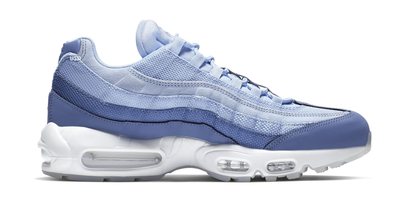 814fa3710fb2 Image via US11 · Nike Air Max 95  Have a Nike Day Blue  (Medial)