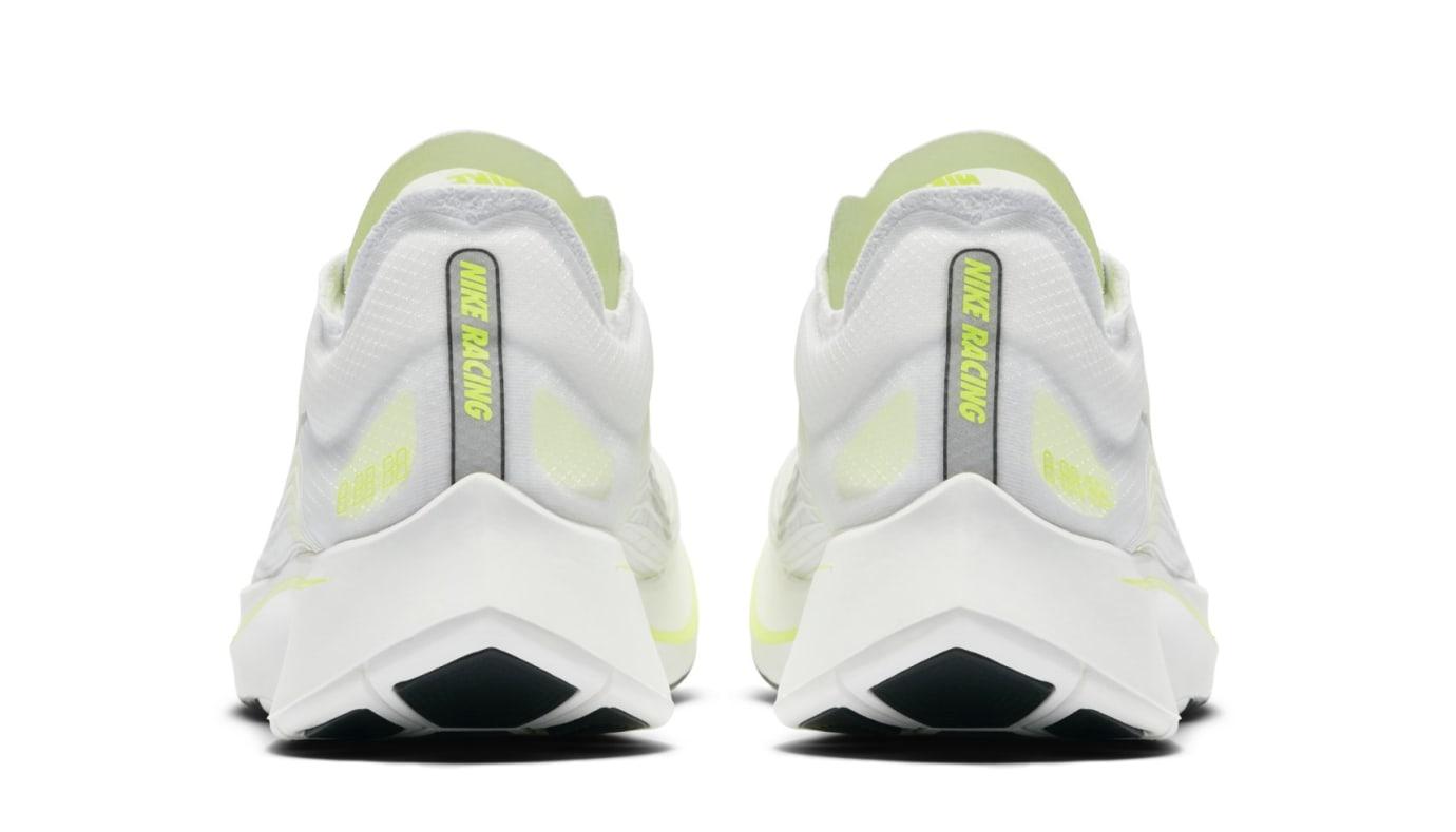 Nike Zoom Fly SP 'White/Volt/Glow' AJ9282-107 (Heel)