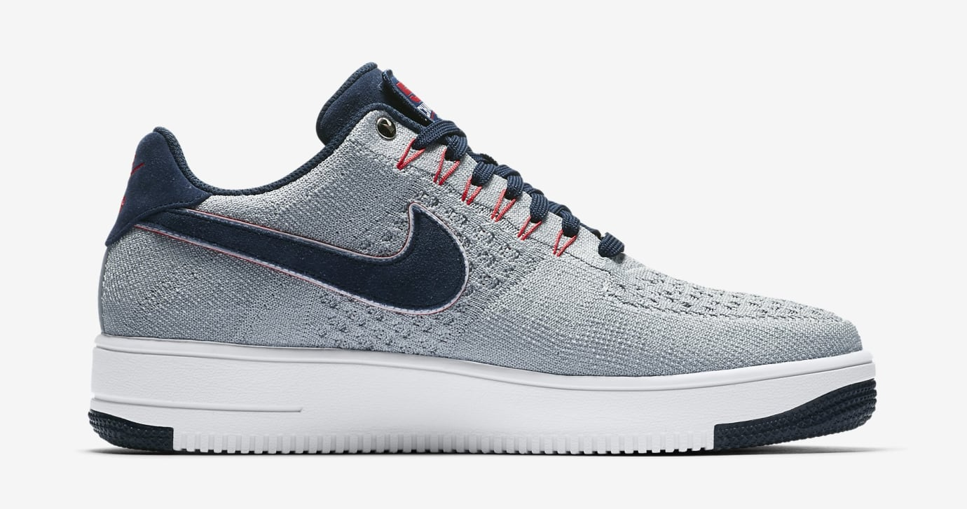 Nike Air Force 1 Ultra Flyknit RKK Patriots AH8425-001 (Medial)