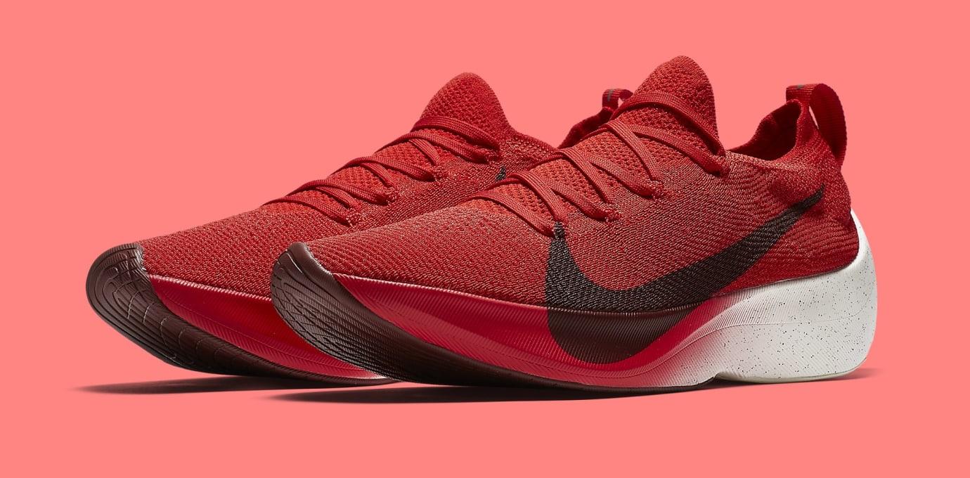 Nike Vapor Street Flyknit 'Red' AQ1763-600 (Pair)