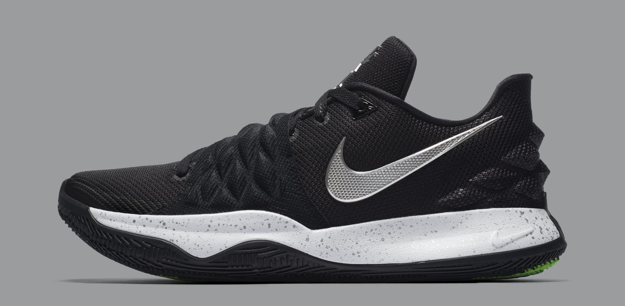 Nike Kyrie 4 Low 'Black/Metallic Silver' AO8979-003 (Lateral)