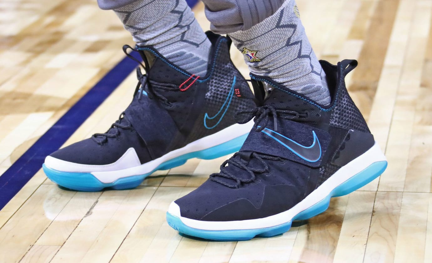 LeBron James Nike LeBron 14 Red Carpet