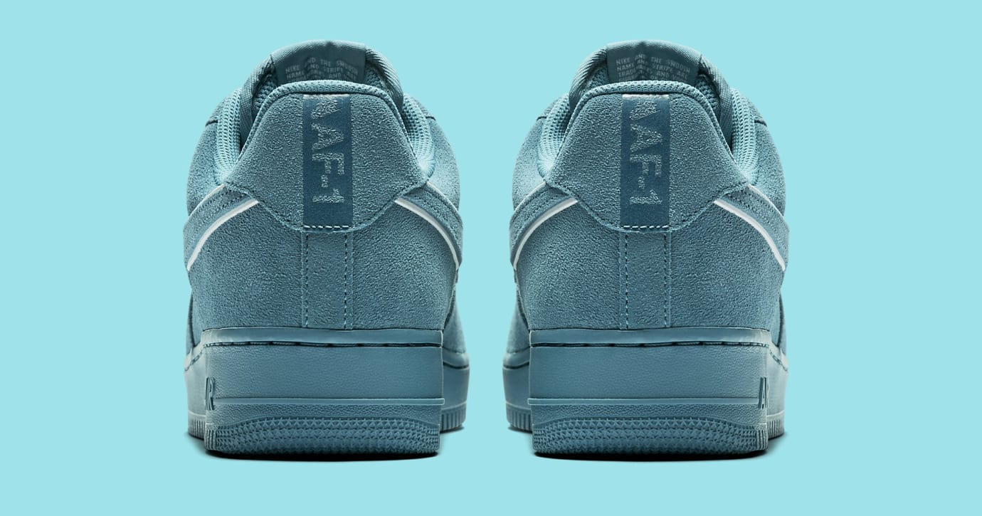 Nike Air Force 1 Suede AA1117-400 (Heel)