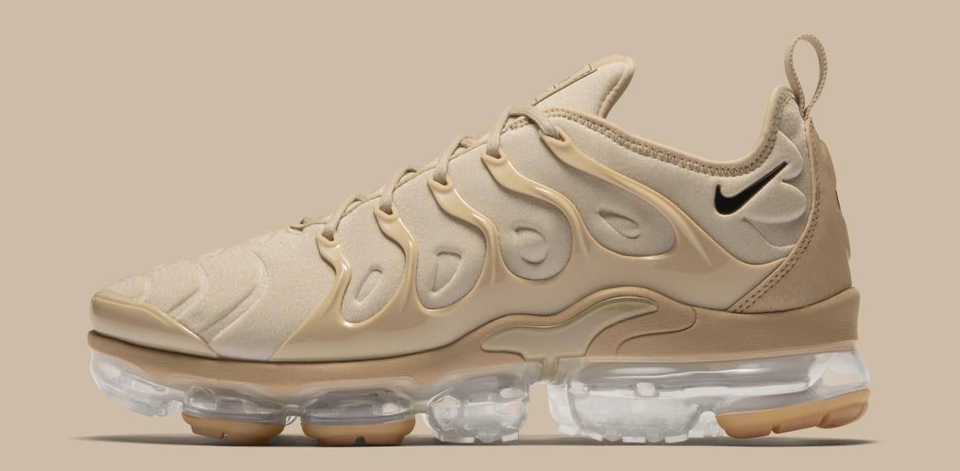 13f5660d0aa Image via Nike Nike VaporMax Plus  String Black Desert Gum Light Brown   AT5681-