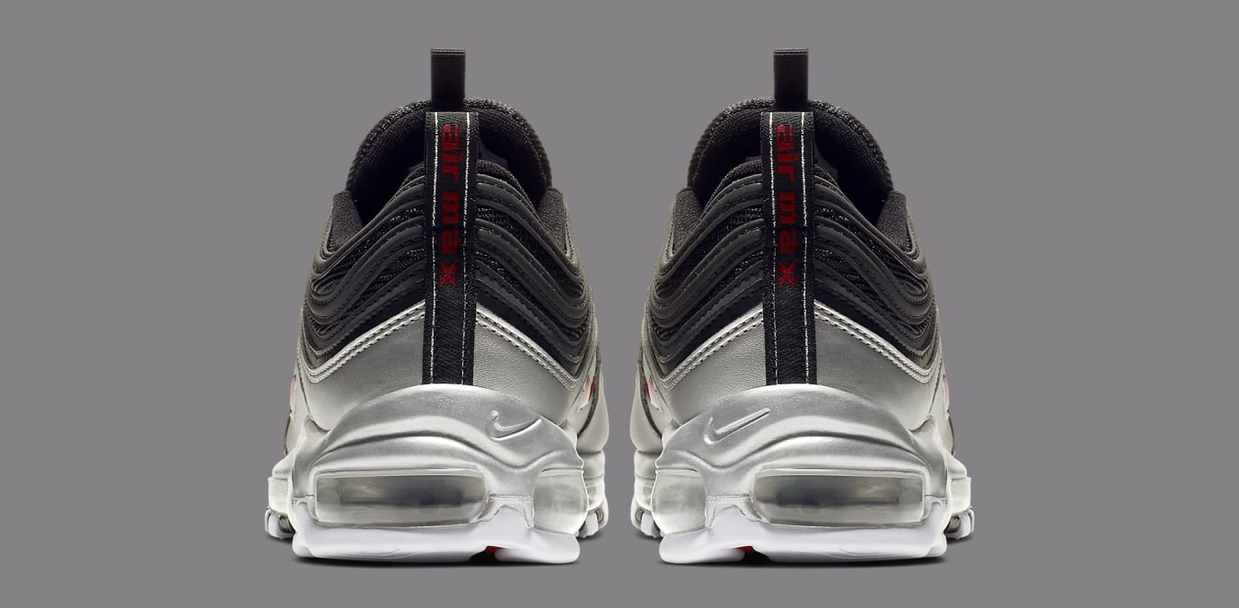 Nike Air Max 97 'Black/Metallic Silver' AT5458-001 (Heel)
