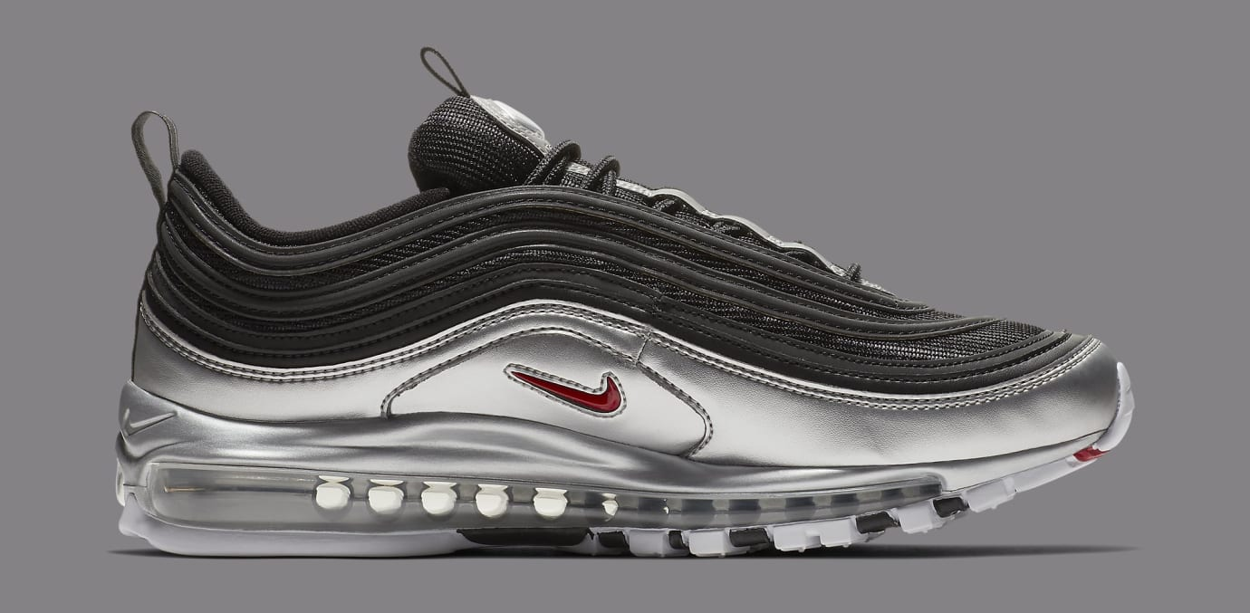 d19d8043 Image via Nike Nike Air Max 97 'Black/Metallic Silver' AT5458-001 (Medial)