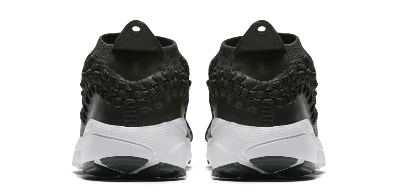 Nike Footscape Woven Chukka Flyknit 'Black' AO5417-001 (Heel)