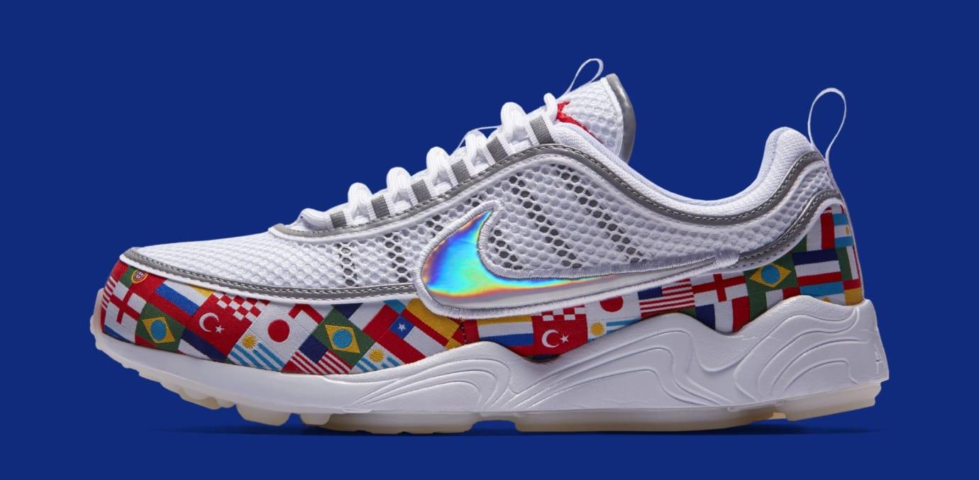 Nike Air Zoom Spiridon 'One World' AO5121-100 (Lateral)
