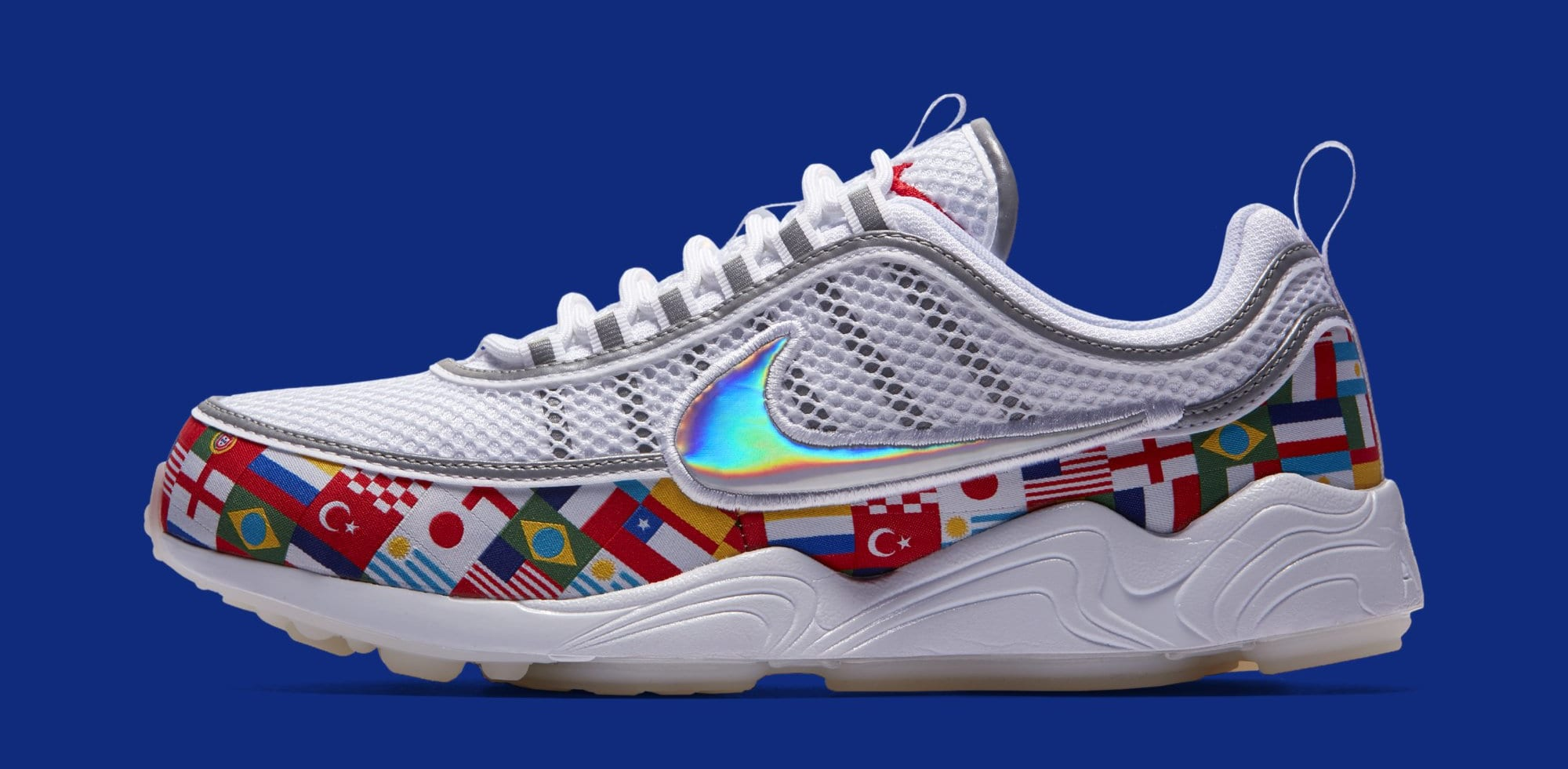 Nike Air Zoom Spiridon 'One World' AO5121-100 (Lateral)