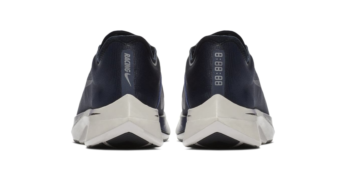 793dfa8b33236 Nike Zoom Vaporfly 4%  Obsidian Metallic Silver  880847-405 Release ...