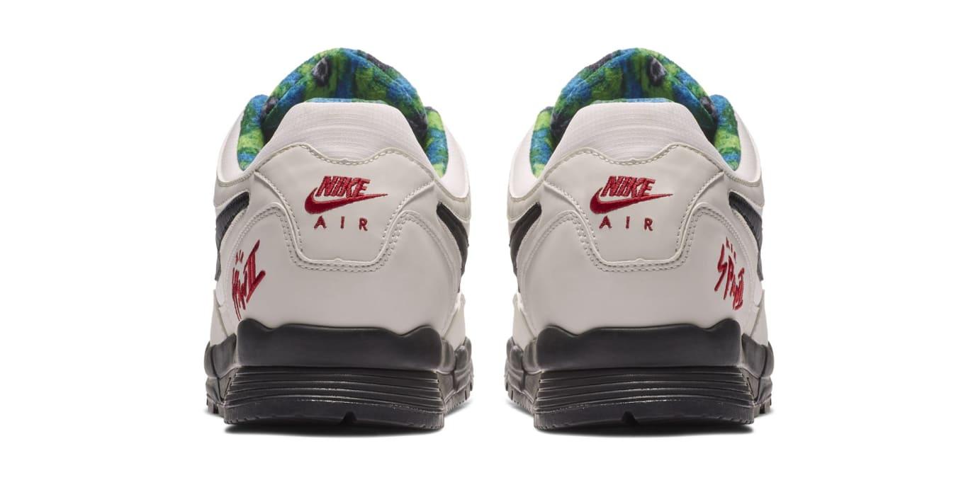 Nike Air Span 2 SE 'Phantom/Black-Mountain Blue-Fir' (Heel)