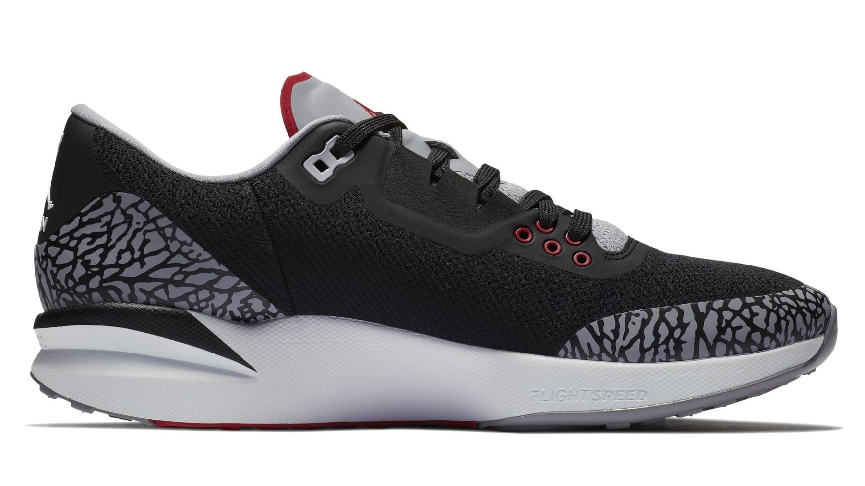 Jordan Zoom Tenacity 88 'Black/Cement' (Medial)