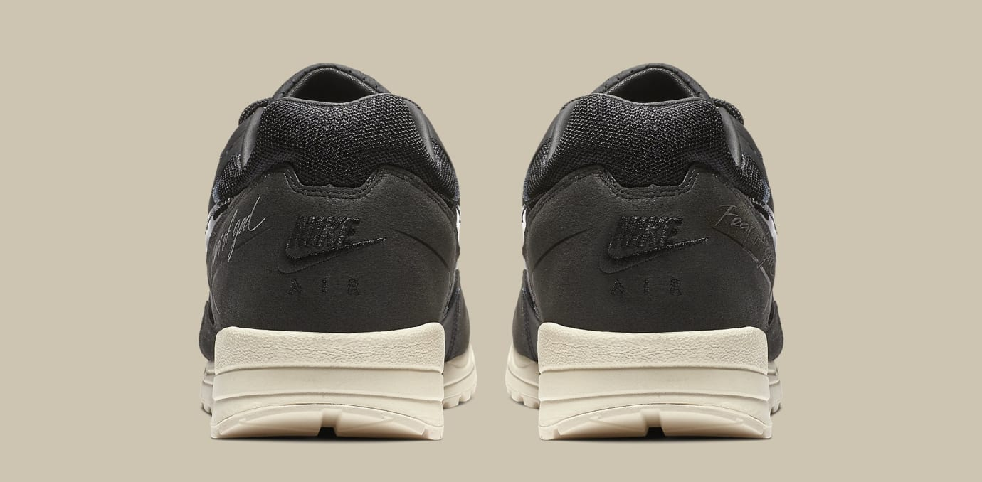 Fear of God x Nike Air Skylon 2 'Black/Sail-Fossil' BQ2752-001 (Heel)