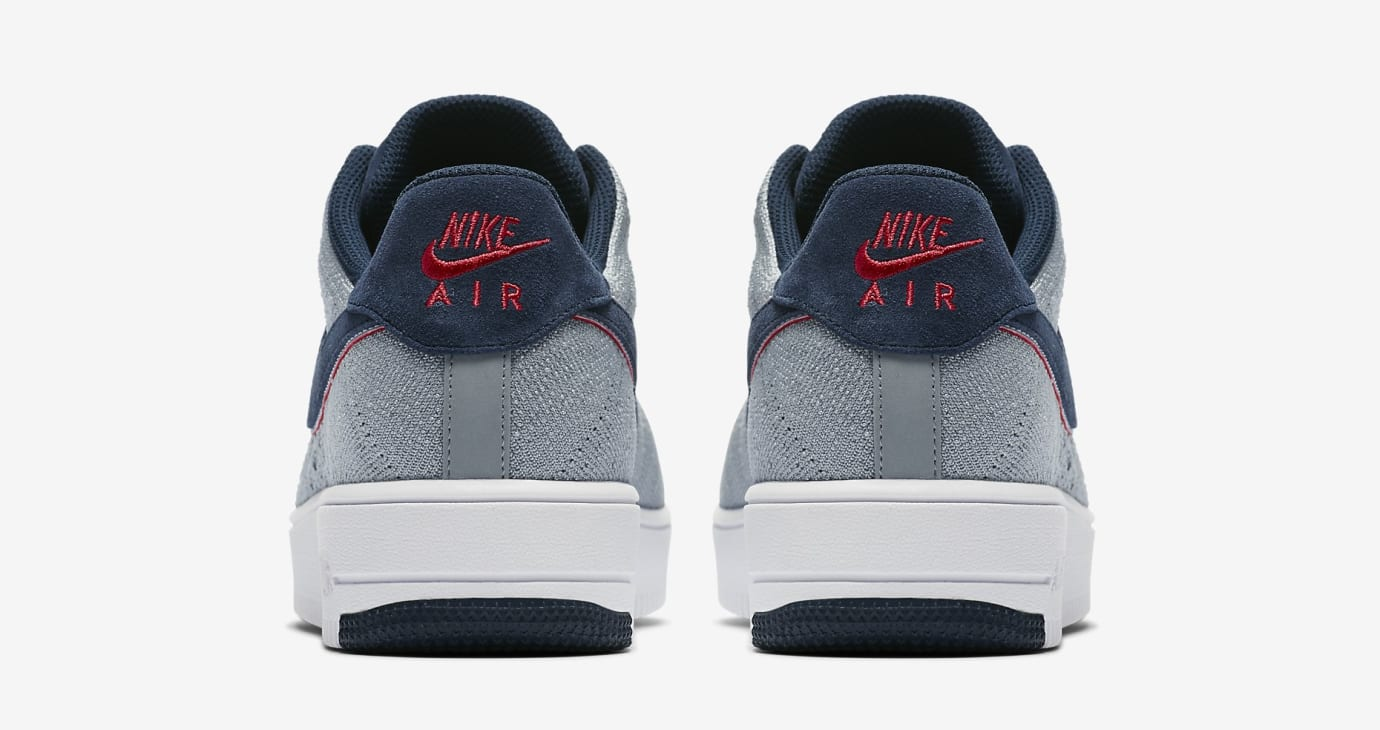 Nike Air Force 1 Ultra Flyknit RKK Patriots AH8425-001 (Heel)