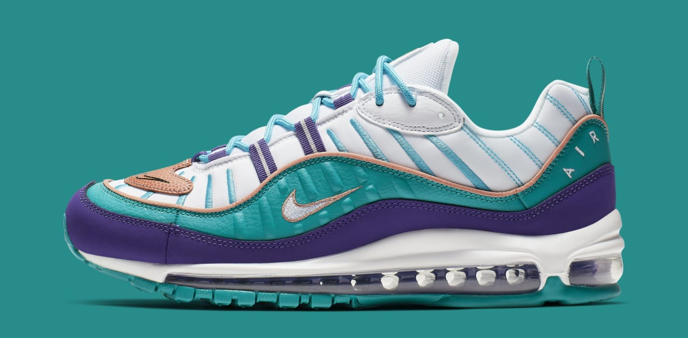 b565c0667cd43 Nike Air Max 98 'Court Purple/Terra Blush-Spirit Teal' 640744-500 ...