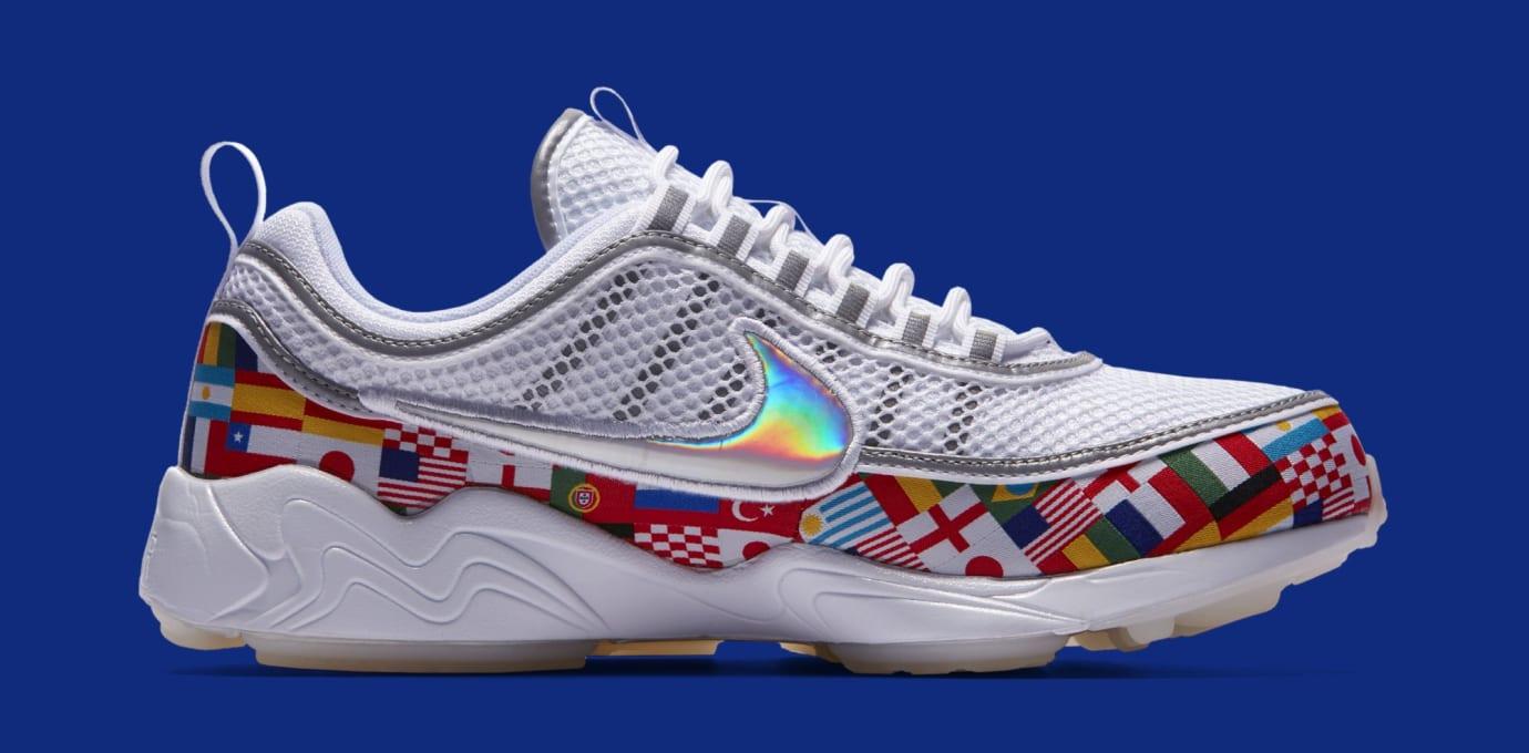 Nike Air Zoom Spiridon 'One World' AO5121-100 (Medial)