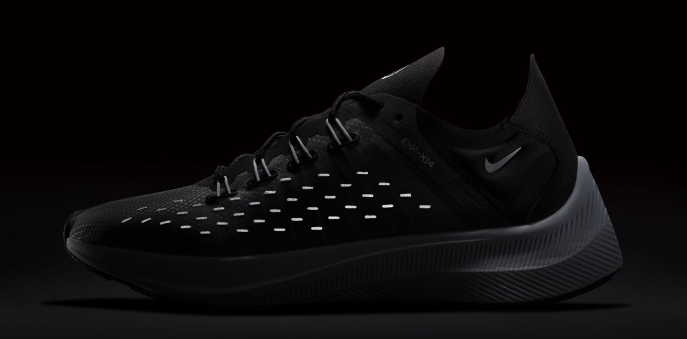 Nike WMNS EXP-X14 'Black/White/Wolf Grey' AO3170-001 (Reflective)