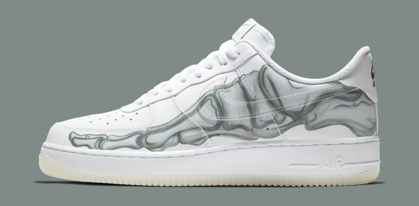 034dc391fd Nike Air Force 1 QS 'Skeleton' Release Date | Sole Collector