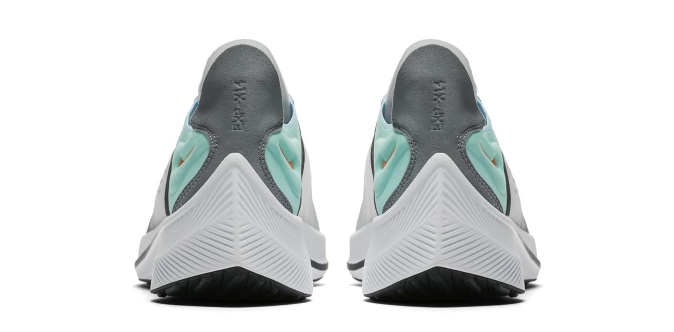 Nike EXP-X14 QS 'White/Emerald Rise/Cone/Blue Chill' BQ6972-100 (Heel)