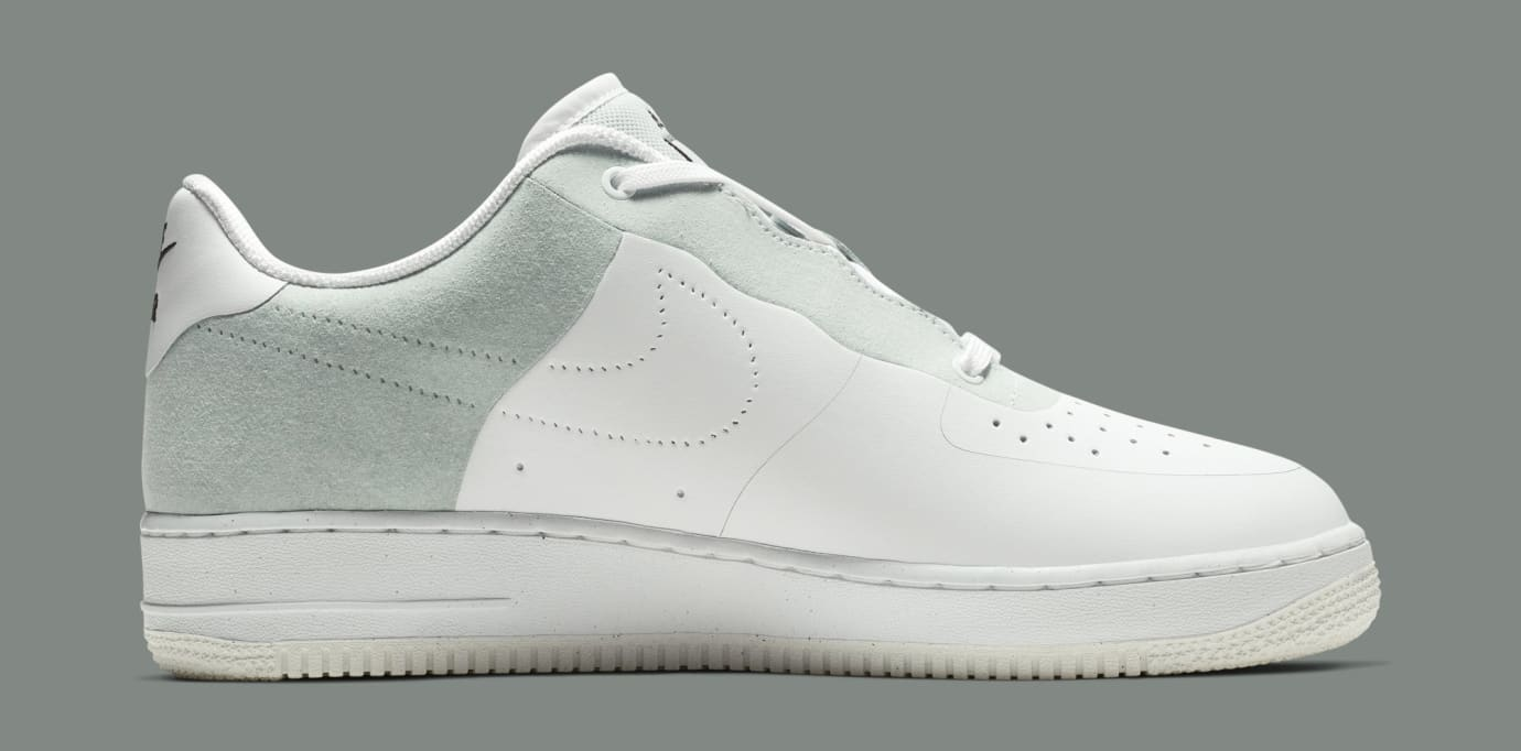 A-Cold-Wall* x Nike Air Force 1 Low 'White/Light Grey-Black' BQ6924-100 (Medial)