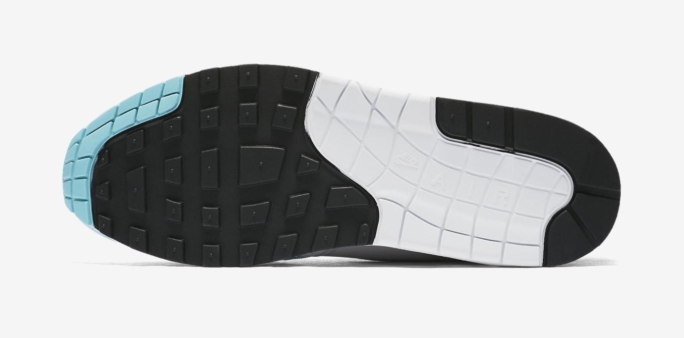 Nike Air Max 1 Anniversary 'Aqua' 908375-105 (Bottom)