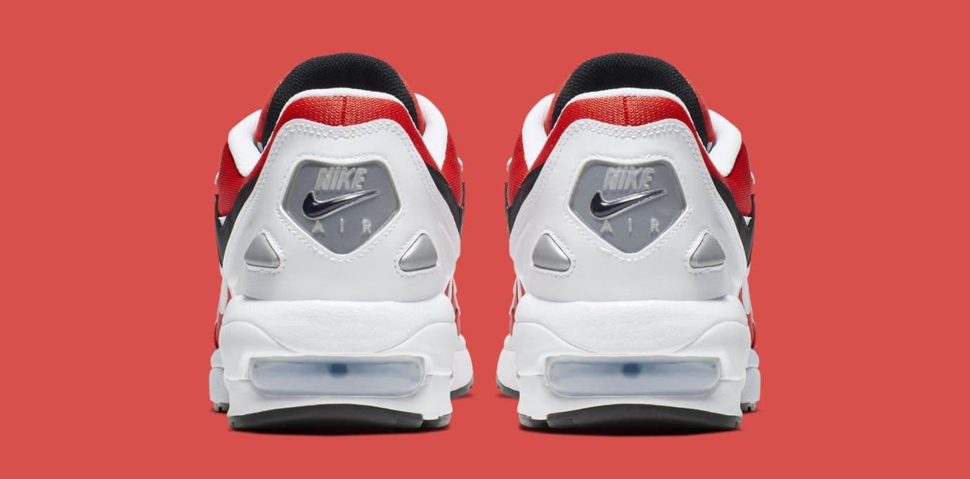 Nike Air Max2 Light 'White/Black-Habanero Red-Cool Grey' AO1741-101 (Heel)