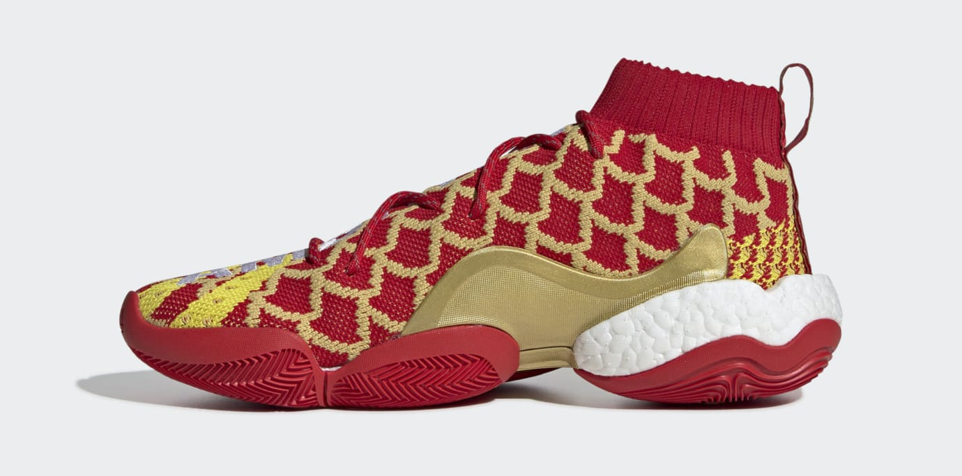 a5efbcdbd Pharrell x Adidas Crazy BYW  Chinese New Year  EE8688 Release Date ...