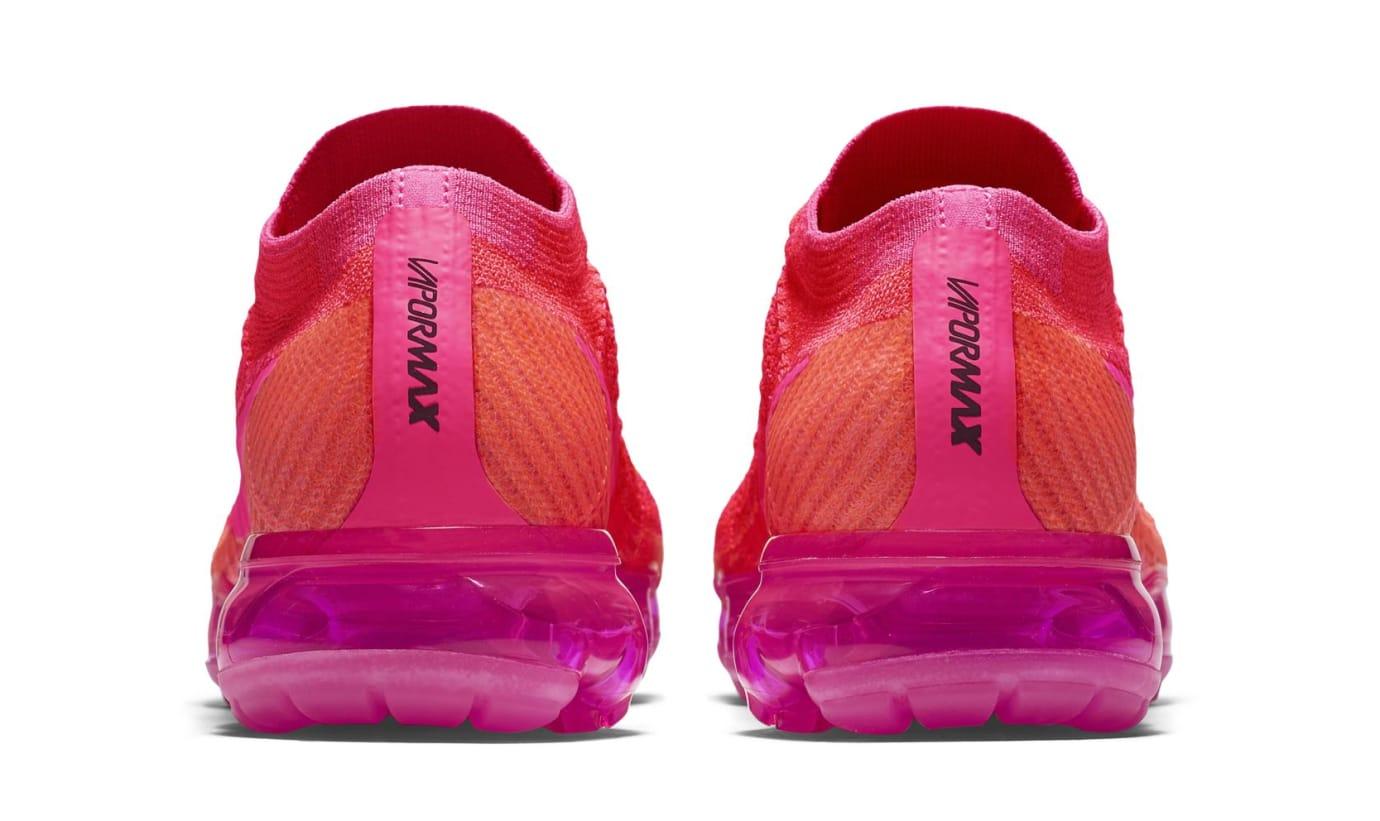 Nike Air Vapormax WMNS Bright Crimson/Hot Pink (Heel)