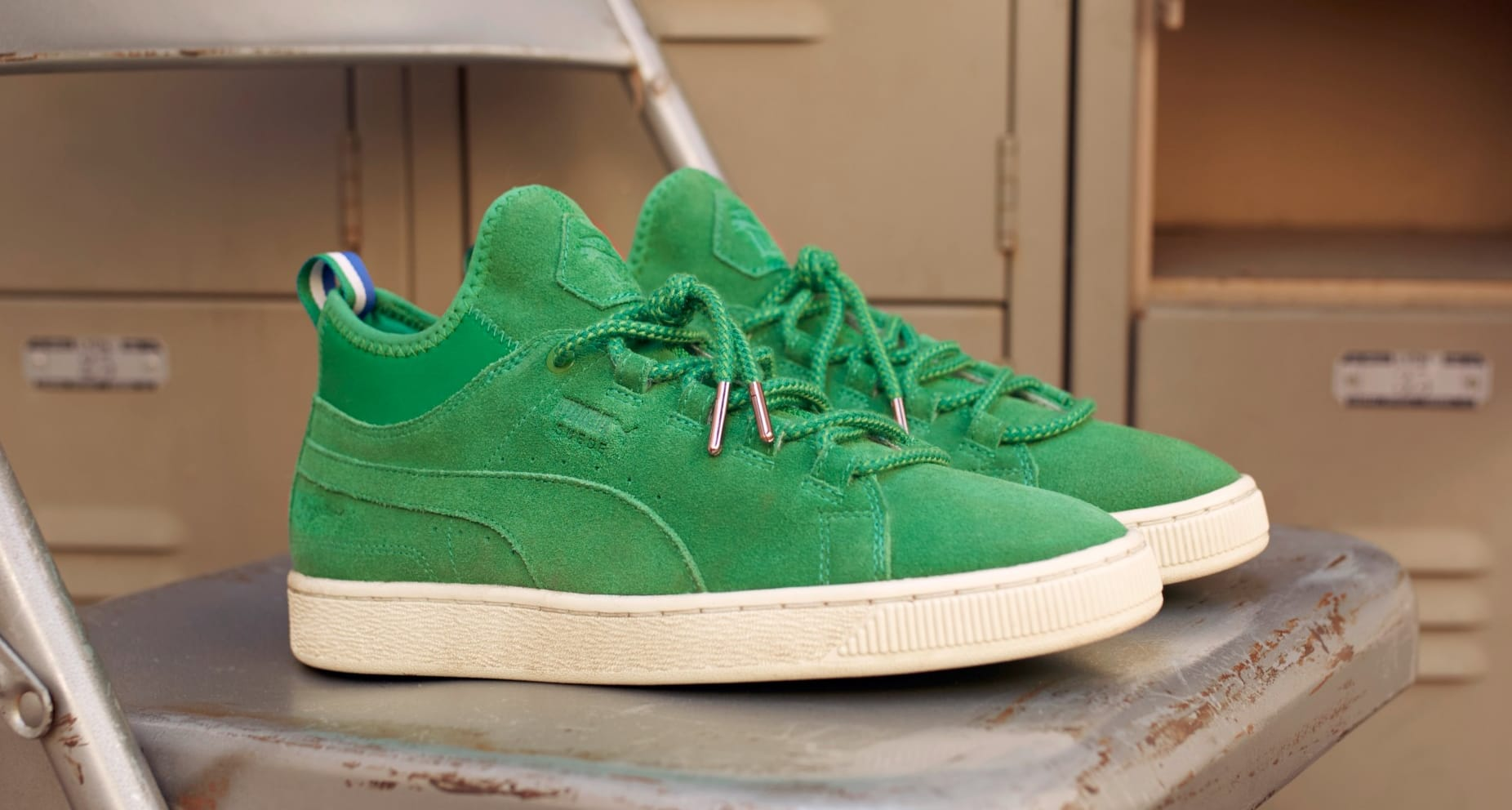 Big Sean x Puma Suede Mid 'Jelly Bean'