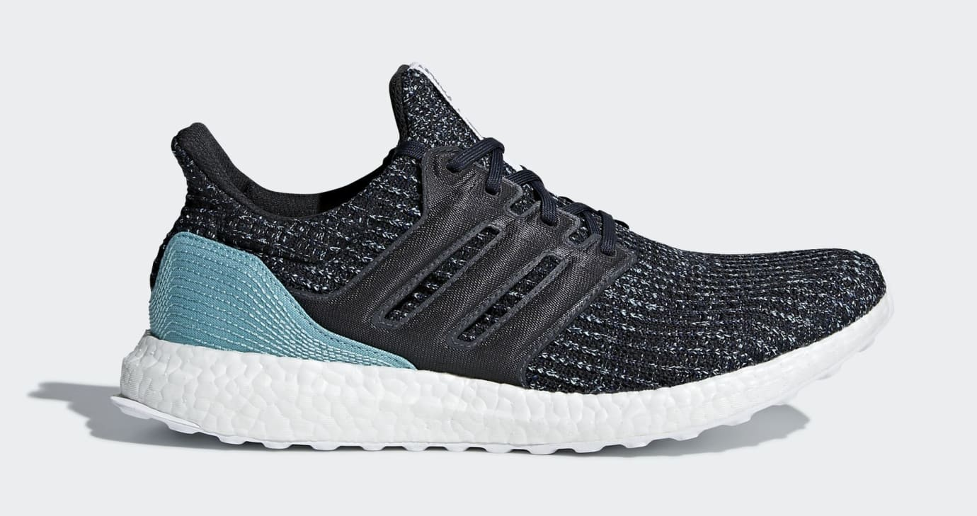 Parley x Adidas Ultra Boost CG3673 (Lateral)