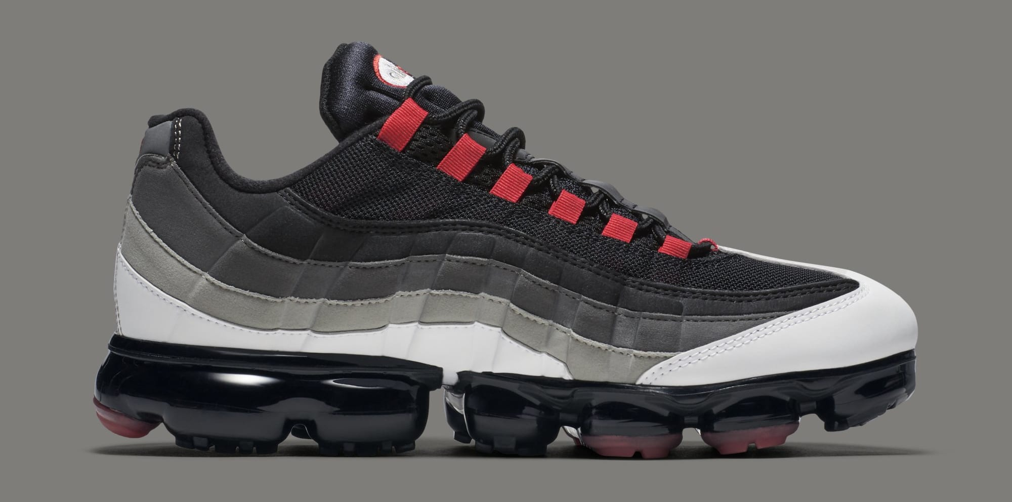 size 40 a82c2 a4820 Nike Air VaporMax 95 'White/Hot Red-Dark Pewter-Granite ...