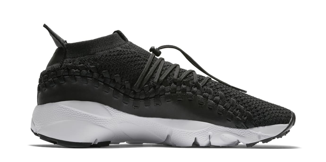 huge selection of 7dbe1 76d33 Image via Nike Nike Footscape Woven Chukka Flyknit  Black  AO5417-001  (Medial)