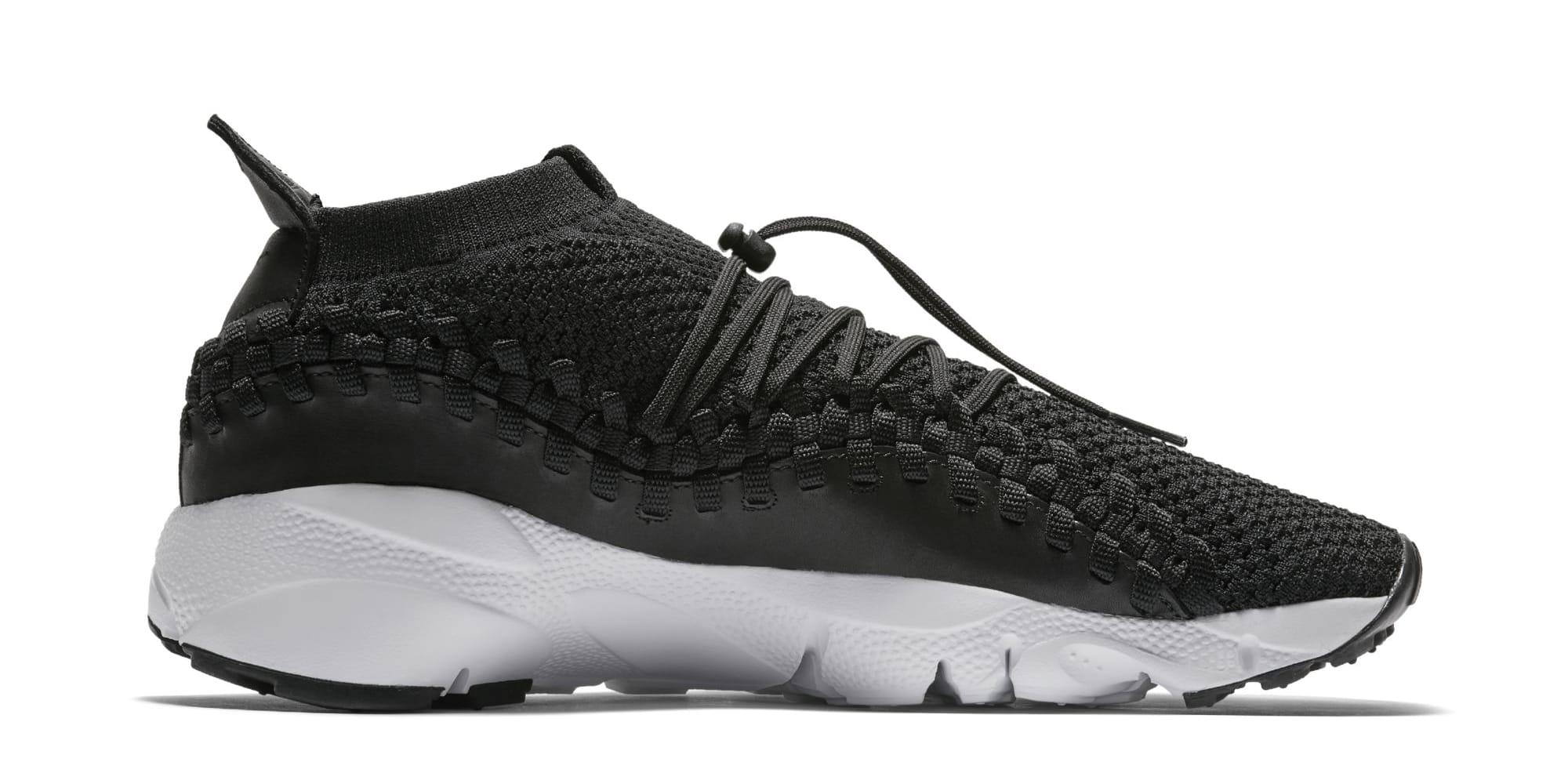 Nike Footscape Woven Chukka Flyknit 'Black' AO5417-001 (Medial)