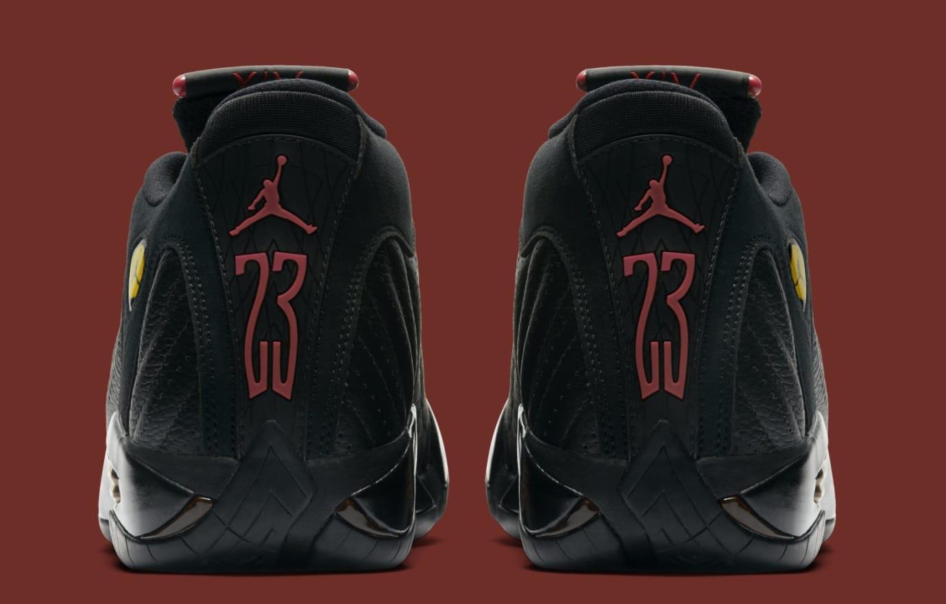 Air Jordan 14 Retro 'Last Shot' 487471-003 (Heel)